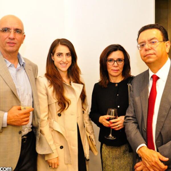Federico Domínguez, Virginia Pascual, Lilia Celio y Federico Domínguez