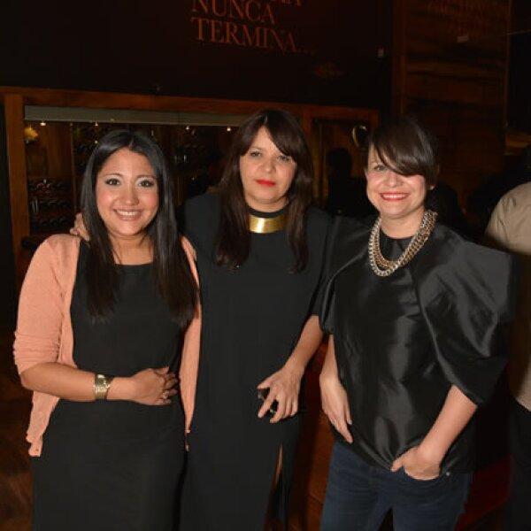 Mayte Serón,Julia Franco; Renata Franco