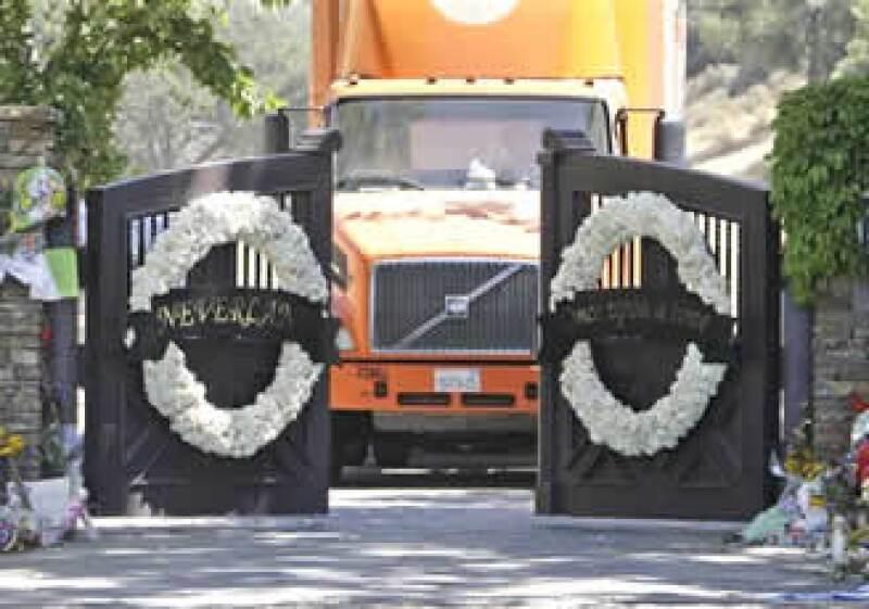 En la hacienda Neverland de Michael Jackson no se realizará la ceremonia fúnebre pública. (Foto: AP)
