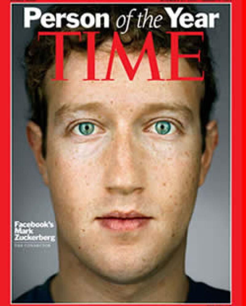 Mark Zuckerberg superó a los mineros de Chile y a Julian Assange en el nombramiento de Time. (Foto: AP)