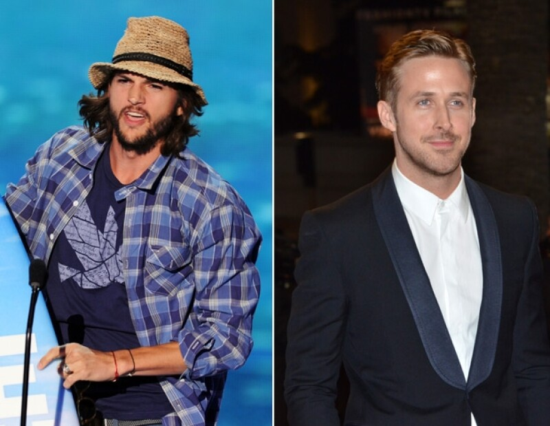 Ashton Kutcher y Ryan Gosling