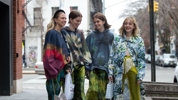 Street Style, Fall Winter 2019, New York Fashion Week, USA - 07 Feb 2019
