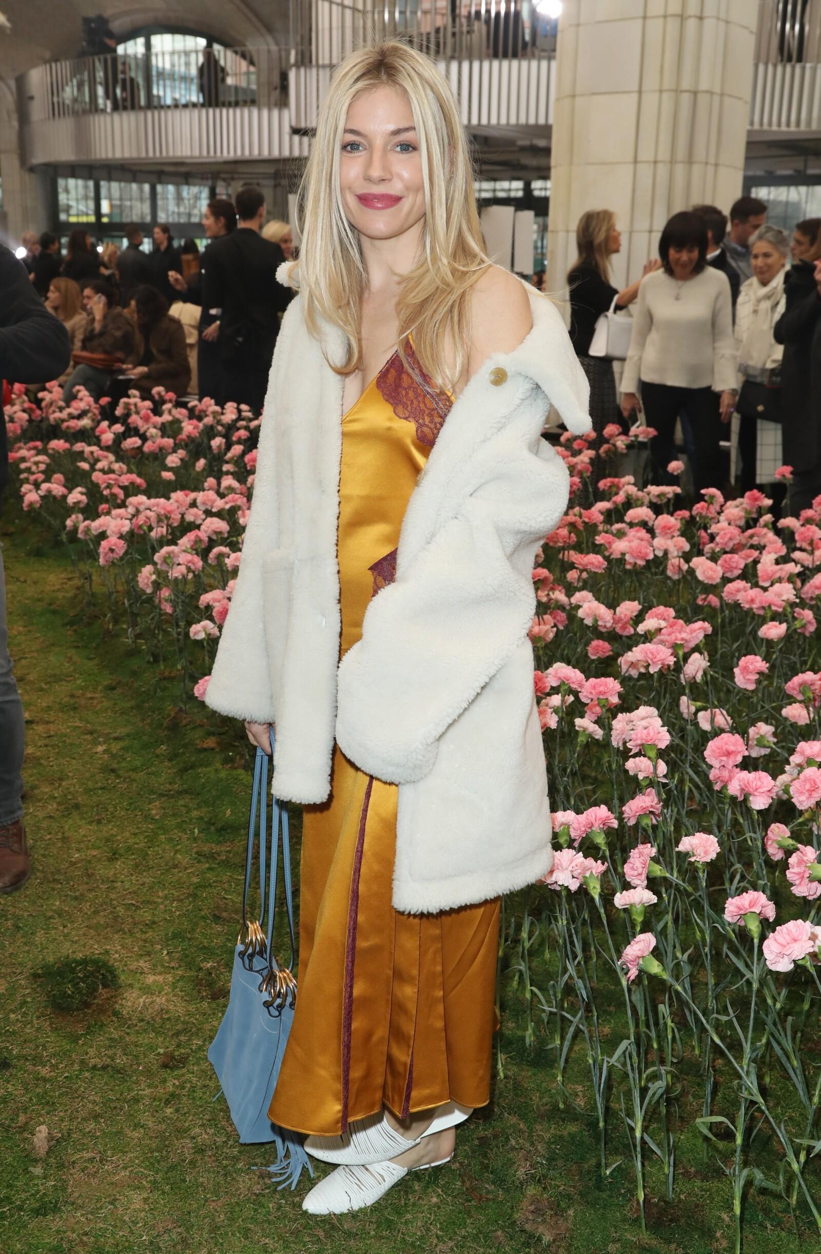 Tory Burch front row, Fall Winter 2018, New York Fashion Week, USA - 09 Feb 2018