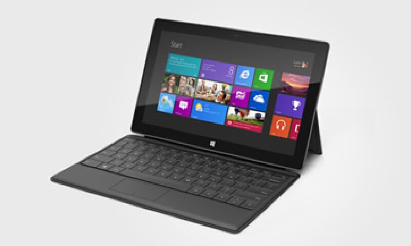 Con Surface, Microsoft intenta convertir a las tablets en híbridos PC-móviles. (Foto: Cortesía de la marca)