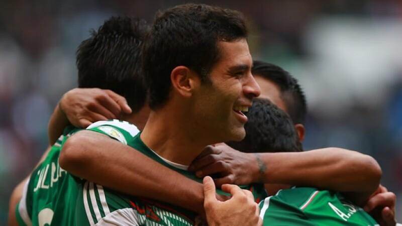 rafael marquez celebrando mexico