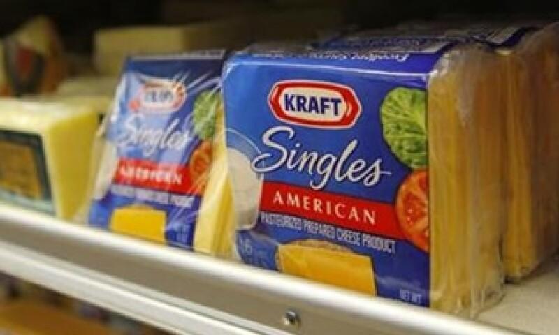 Kraft Foods Inc. espera un crecimiento de alrededor del 5% en sus ingresos de este año. (Foto: Reuters)