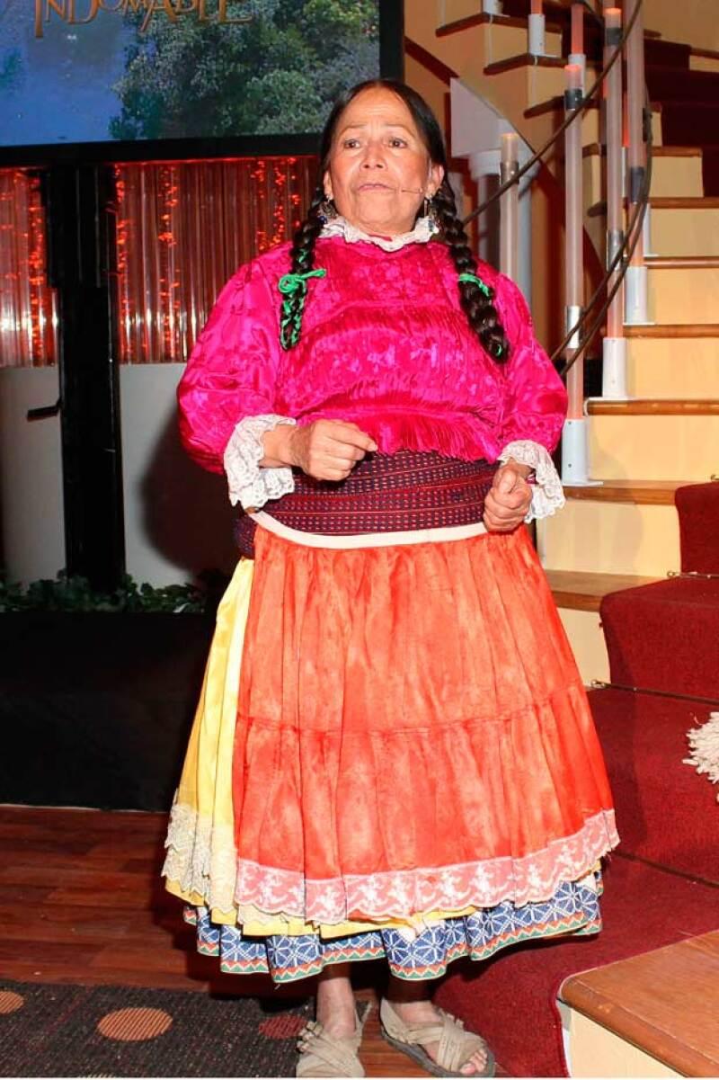 """La actriz y comediante falleció en la madrugada en la Ciudad de México, siendo su último papel """"La Hija de Moctezuma""""."""