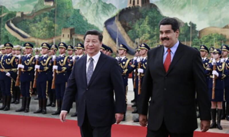 Venezuela y China son aliados estratégicos. (Foto: AFP )
