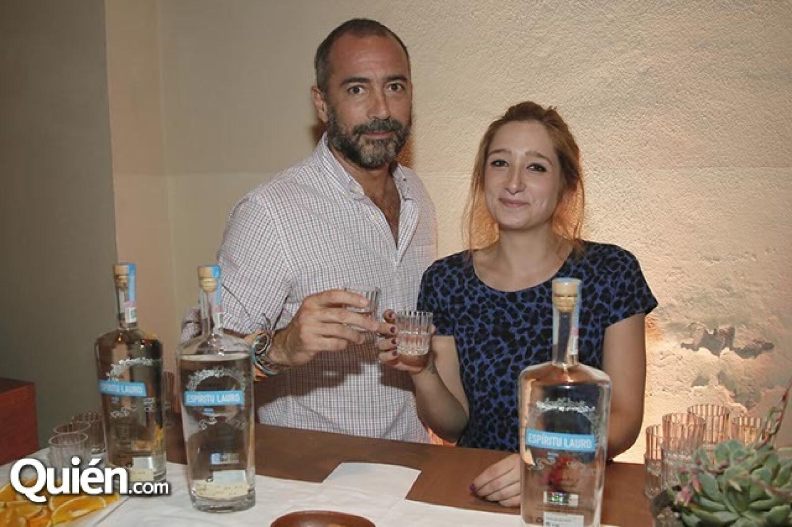 Juan Córdova y Marine Mallaroni