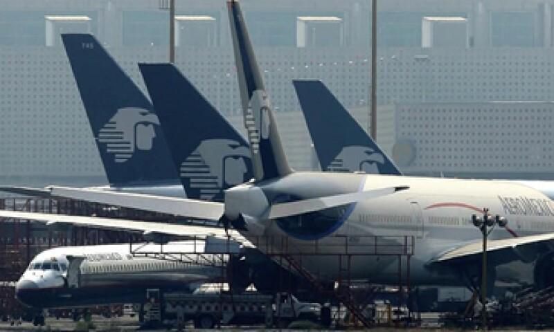 Aeroméxico opera unos 550 vuelos diarios. (Foto: AP)