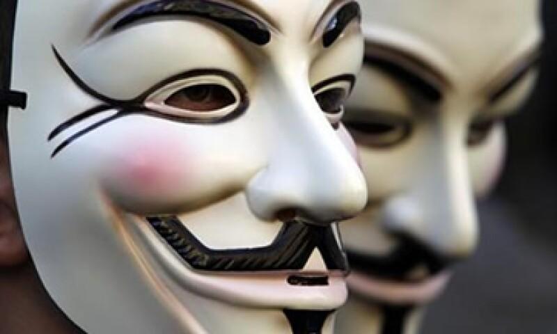 Anonymous asegura que la propuesta en México se parece a la de Estados Unidos, llamada SOPA. (Foto: Reuters)