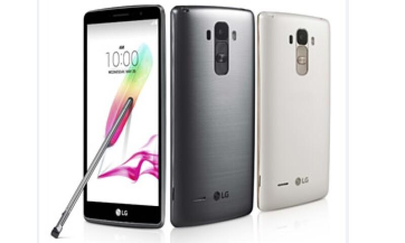 Entre los nuevos smartphones está el G4 Stylus (Foto: LG Electronics/Cortesía )